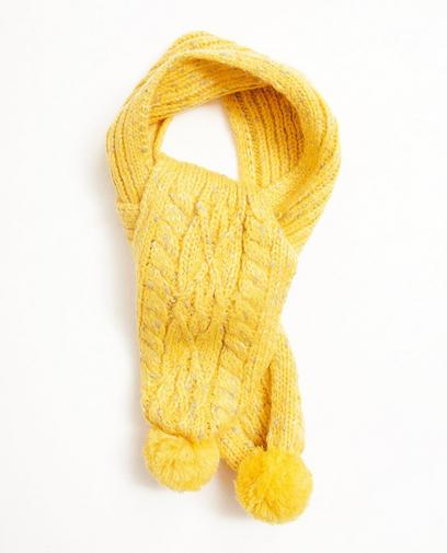 Gele sjaal
